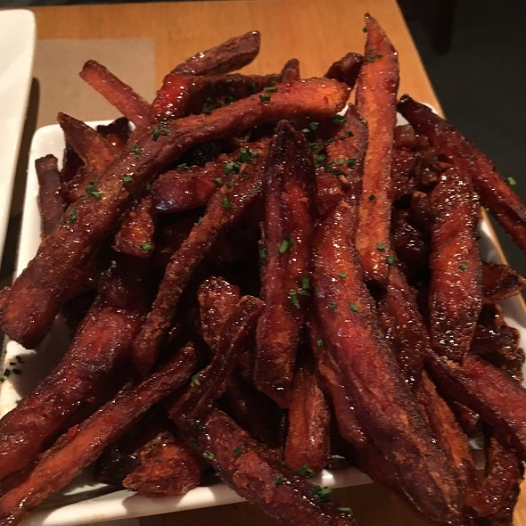 Maple Bacon Sweet Potato Fries