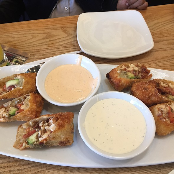 awesome California Pizza Kitchen Scarsdale #8: Avocado Club Egg Rolls at California Pizza Kitchen