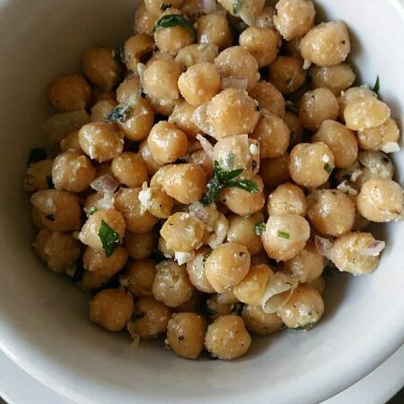 Chickpea Salad @ Soup Kitchen Cafe