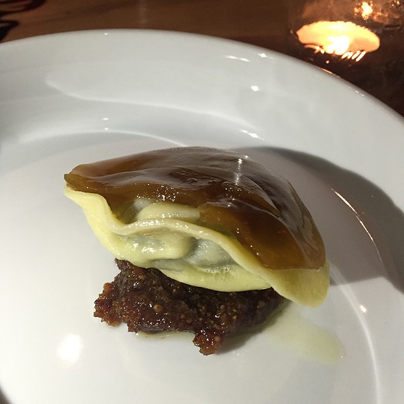 Collard Green Ravioli @ Better Half