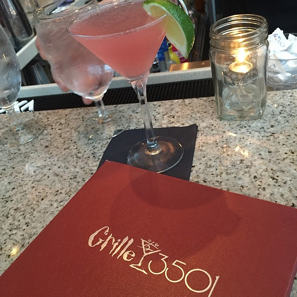 Ginger Me Timbers Martini - Grille 3501, Allentown, PA