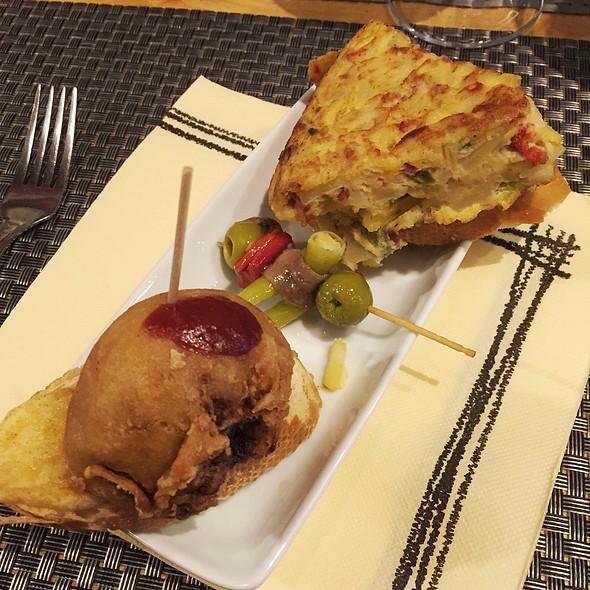 Pintxo, Gilda, Tortilla De Patata