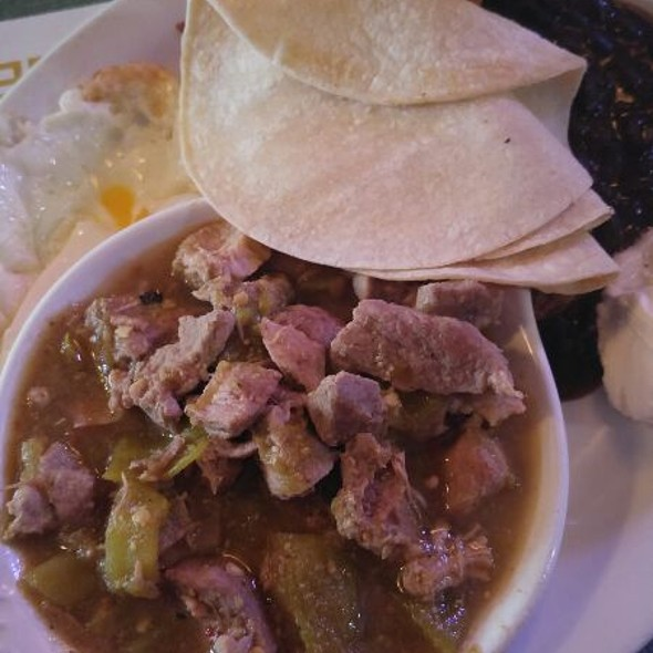 Pork Chile Verde @ Doctor's Lounge