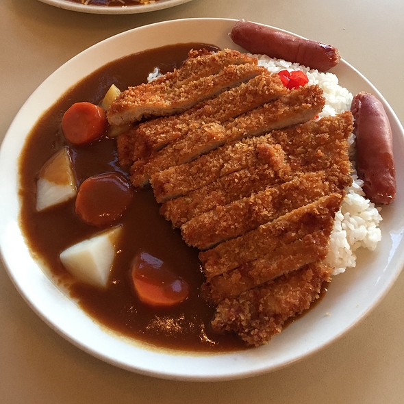 Tonkatsu Curry With Sausage