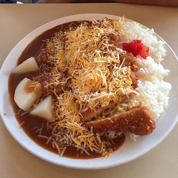 Chicken Katsu Curry With Cheese
