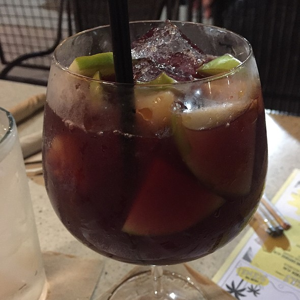 Blood Orange Sangria @ California Pizza Kitchen