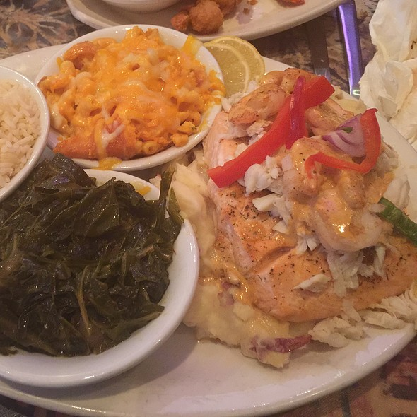 Salmon Creole @ Carolina Kitchen