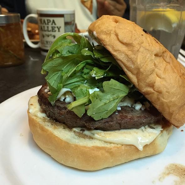 Lamb Burger @ Gillwoods Cafe Saint Helena