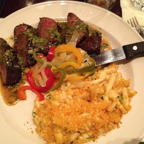Red Chile Rubbed Flat Iron Steak @ Iron Hill Brewery & Restaurant