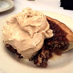 Bourbon Pecan Pie - Mickey Mantle's Steakhouse