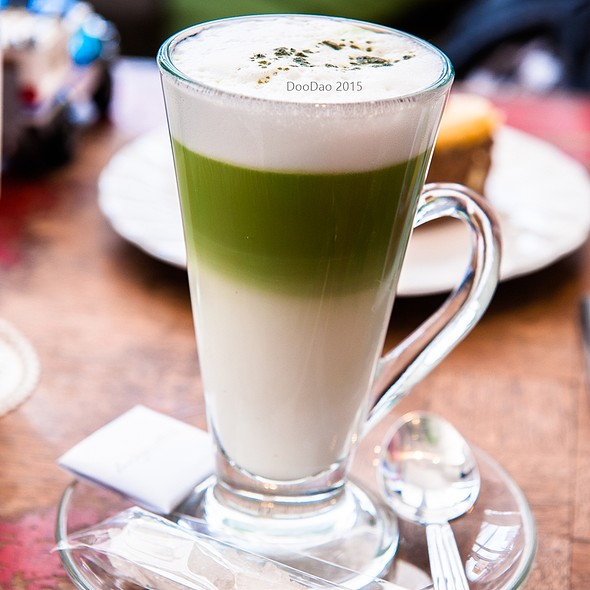 Green Tea Latte @ La Baguette Pattaya