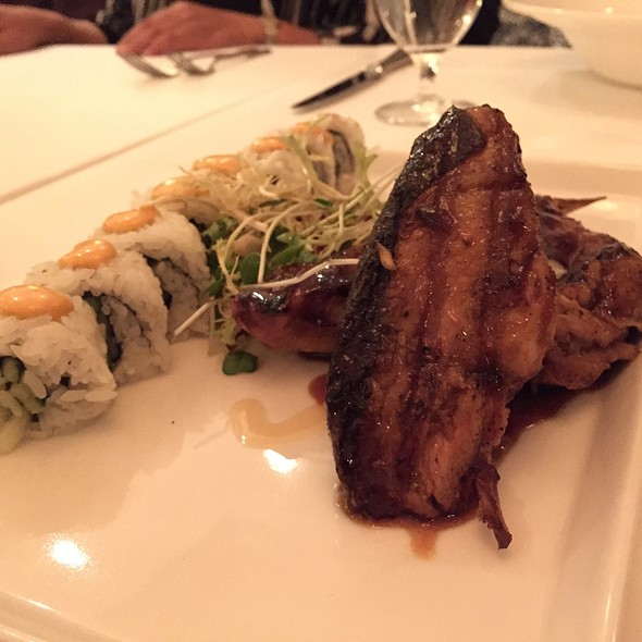 Mongolian Fired-Grilled Hamachi Collar @ Roy's-The Inn at Spanish Bay