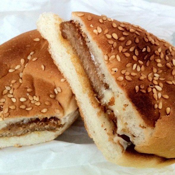 Pork Chop Bun @ 泗益