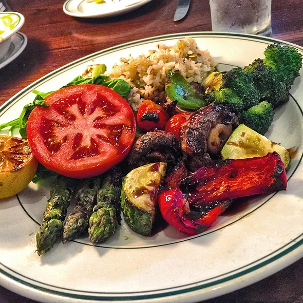 Platter Of Roasted Vegetables @ Daily Grill