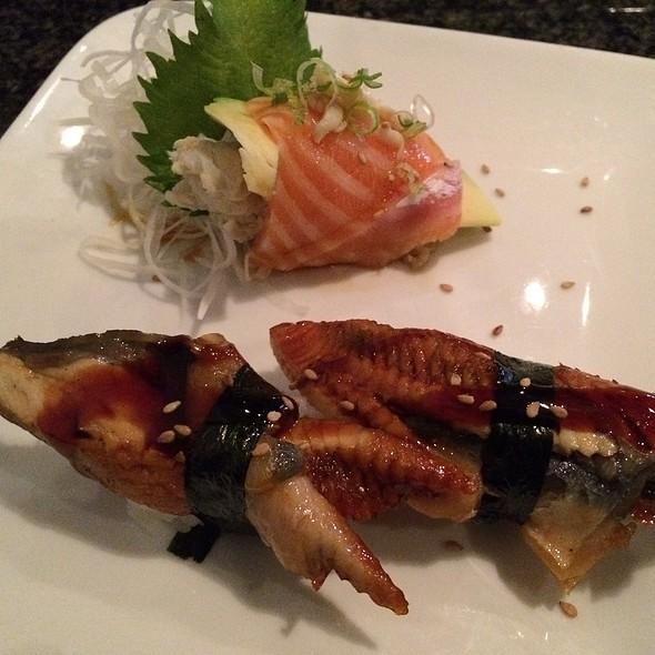 Salmon Crab Truffle Oil Sashimi & Unagi Sushi