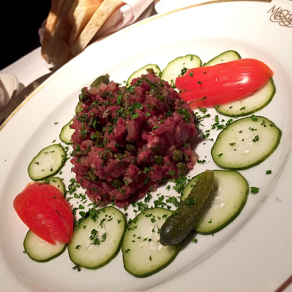 steak tartare @ Michel's At the Colony Surf