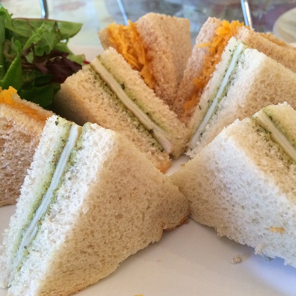 Tea Sandwiches @ secret garden tea house