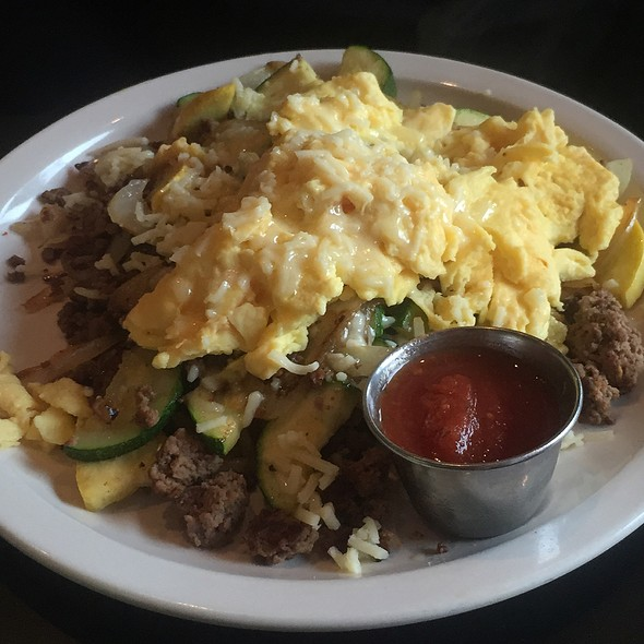 Grass Fed Beef Scramble At Kozy Kitchen