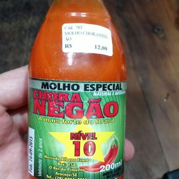 Molho De pimenta Chora Negão @ Villas Pratagy