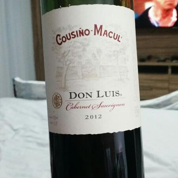 Cousiño-Macul Cabernet Sauvignon 2012 @ Villas Pratagy