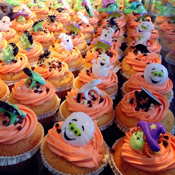 Halloween Muffins @ Markthal Rotterdam