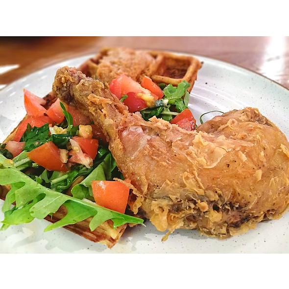 Guilty Pleasure (Fried Chicken Waffle)