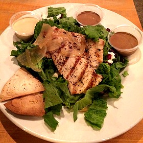 Peter's Grilled Mahi Salad - Dexters of Thornton Park, Orlando, FL