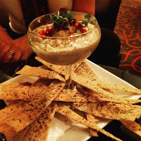 Hummus And Flatbread - Bonavista Revolving Lounge at The Westin Bonaventure Hotel, Los Angeles, CA