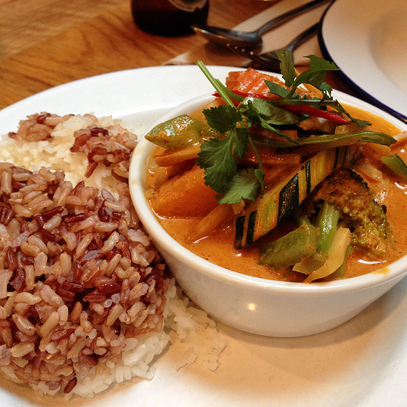 Butternut Squash Red Curry @ Rosa's Thai Cafe