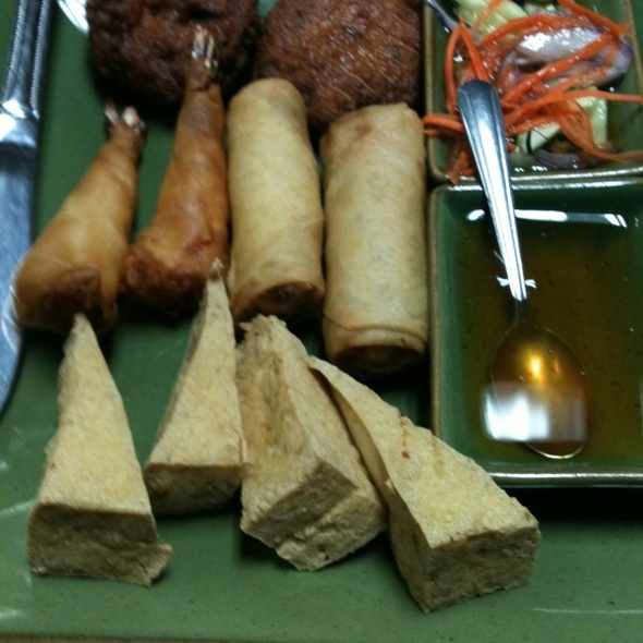 appetizer combo @ Chabaa Thai Cuisine