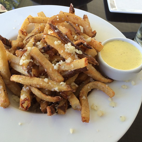 Parmesan Truffle Frites with Saffron Aioli - The House of William & Merry, Hockessin, DE