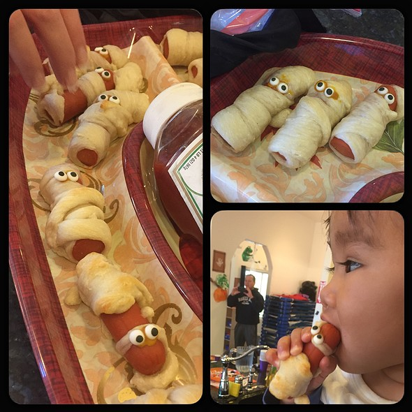 Mummy Dogs @ Halloween Party