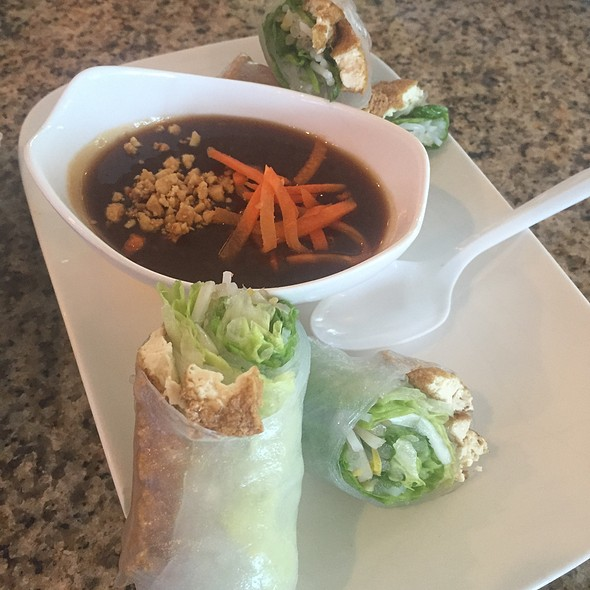 Tofu spring rolls @ Don Cafe