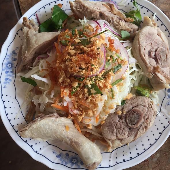 Duck Salad @ Banh Cuon Hoa