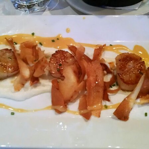 Scallops - Left Bank Santana Row, San Jose, CA