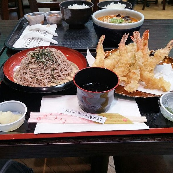 Tempura And Soba Lunch Set