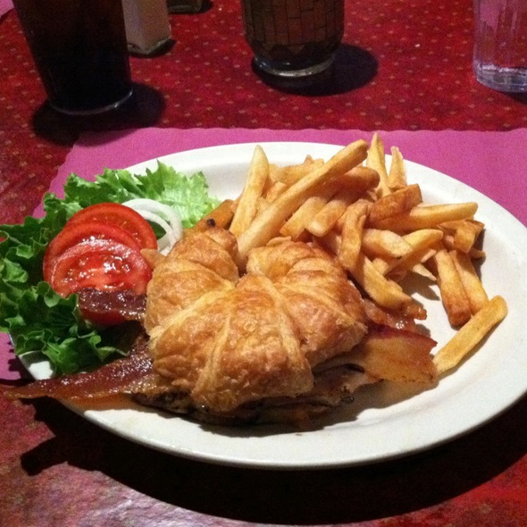 Grilled Chicken Sandwich @ The Open Flame