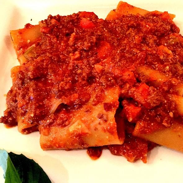 Paccheri (Pasta&Meat Sauce) - Il Canale, Washington, DC
