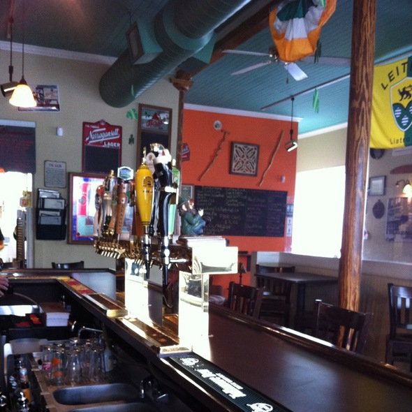 Beer Taps @ The Crooked Shillelagh Pub