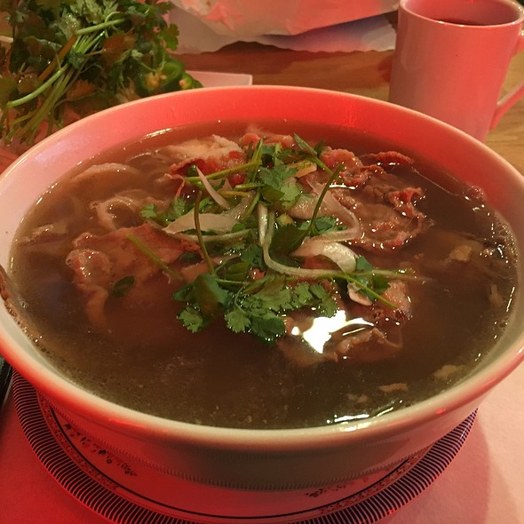 Beef Pho With Brisket, Tendon And Tripe