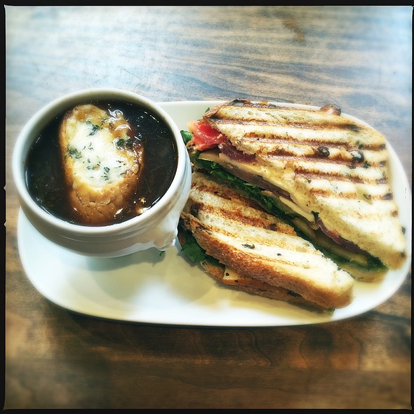 Soup And Grilled Sandwich