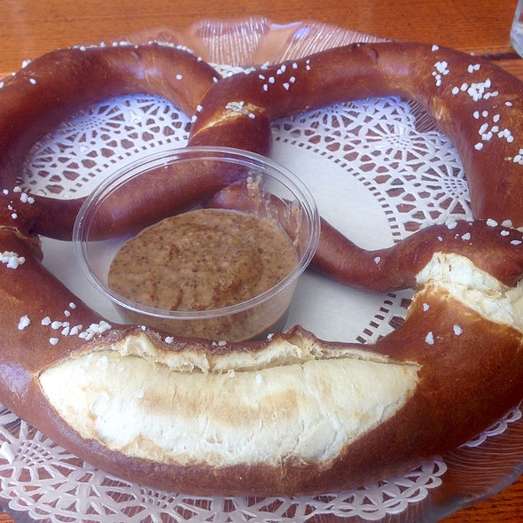 Giant Pretzel - Chalet Edelweiss, Los Angeles, CA