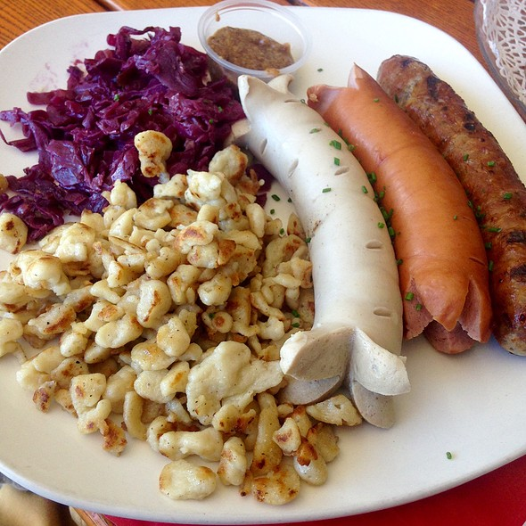 Sausage Platter - Chalet Edelweiss, Los Angeles, CA