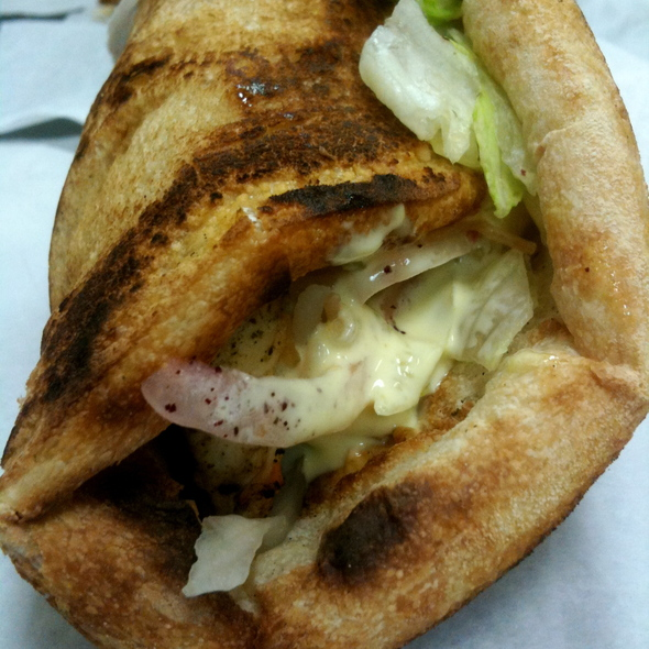 Lemon Chicken Laffa @ Pita Pocket