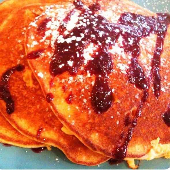 Cornberry Pancakes @ Hawthornes