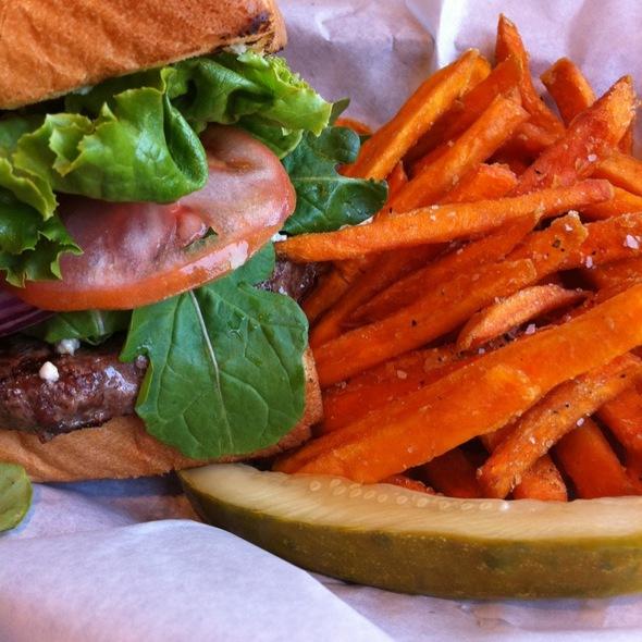 Kobe Beef Burger @ Gourmet Burger Grill