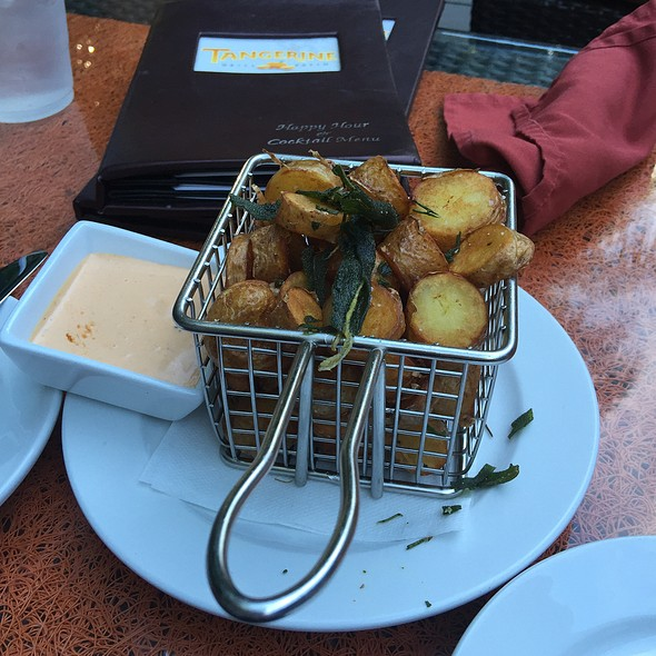 Duck Fat Fried Potatoes @ Tangerine Grill & Patio / Old Concept