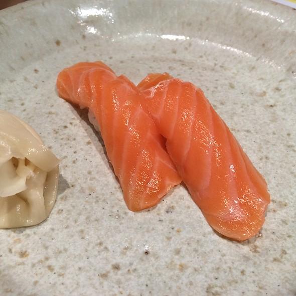 Salmon Nigiri @ Sushi Izakaya Shinn