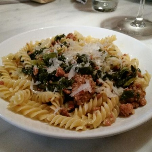 Fusilli Con Sausage And Escarole