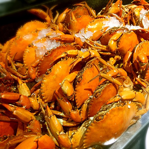 水煮紅蟳螃蟹